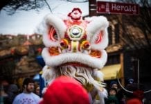 January 25th is Chinese New Year