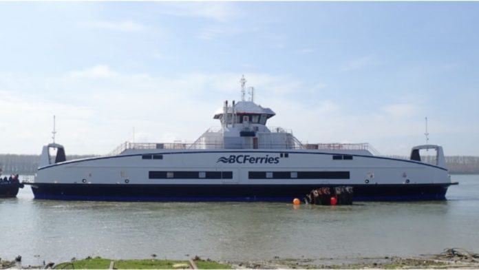 Newest BC Ferry Electric